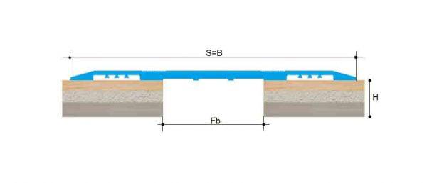 پوشش یک تکه مولتی کف